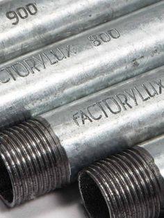 Factoylux threaded conduit pipe
