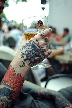 Geometric Tattoo Eye Ideas