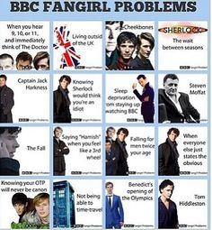 BBC fangirls