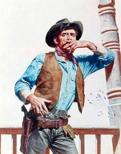 Stanley Borack Cowboys on horseback (detail) Real Cowboys, Cowboys And Indians, Cowboy Art, Cowboy And Cowgirl, Cowboy Pictures, Cowboy Pics, Cowboy Ranch, Rare Animals, Strange Animals