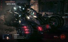 Batman: Arkham Knight Batmobile Experience by Shane Mielke, via Behance