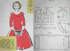 Dress Making Patterns, Vintage Dress Patterns, Barbie Patterns, Vintage Sewing Patterns, Clothing Patterns, Gown Pattern, Collar Pattern, Patron Vintage, Retro