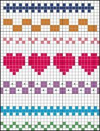 Cross stitch border.