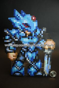 Cecil Final Fantasy Perler Art