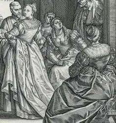 De Venetiaanse bruiloft, Hendrick Goltzius, 1584 - Rijksmuseum