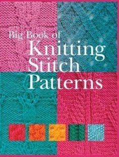 Reference book: Big Book of Knitting Stitch Patterns