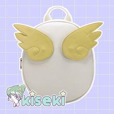Card Captor Sakura - Winged Egg Backpack - Kawaii, Fairy Kei, Sweet Lolita, Ulzzang, Harajuku - FREE SHIPPING