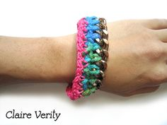 90's Dance Party - Large Chain Link Bracelet