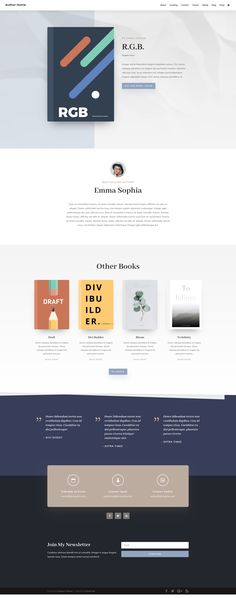 Divi — The Ultimate WordPress Theme & Visual Page Builder Book Layout, Page Layout, Layouts, Website Layout, Website Themes, Design Your Own Website, Bootstrap Template, Cool Themes, Design System