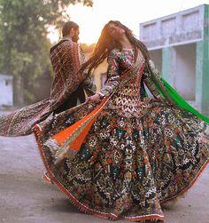 Ali Xeeshan Amna Babar Bridal Couture Campaign with Hasnain Lehri | Secret Closet