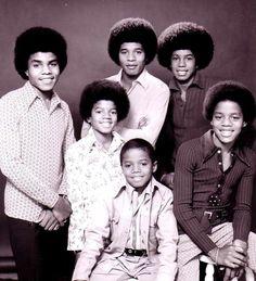 The Jacksons - Tito Jackson,  Michael Jackson, Jackie Jackson, Randy Jackson, Jermaine Jackson, and Marlon Jackson.
