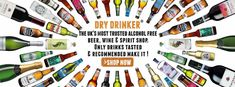 alcohol free beer, non alcoholic beers, wines & spirits
