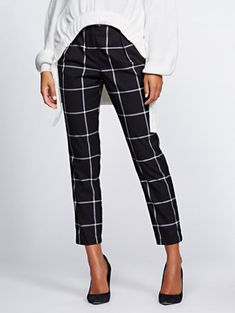 7e3c9f0780 Shop Gabrielle Union Collection - Windowpane Pant . Find your perfect size  online at the best