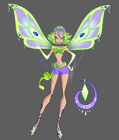 Ashley Enchantix by Fairyofmatter on DeviantArt Winx Club, Club Design, Design Art, Alternative Disney Princesses, Mermaid Barbie, Fairytale Fantasies, Cartoon Man, Anime Oc, Disney Art