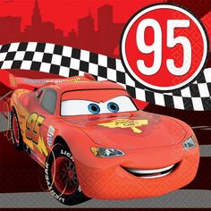 Disney Cars Formula Racer Lunch Napkins 16ct