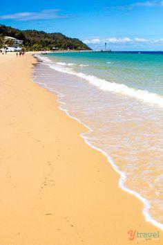 Moreton Island, Queensland, Australia - Beautiful island just off the coast of Brisbane. Put it on your Aussie travel bucket list!
