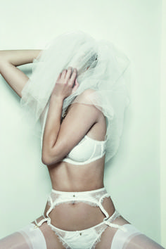 Ella -- Spring Summer 2011 from Agent Provocateur #weddingbelles Bridal Giveaway