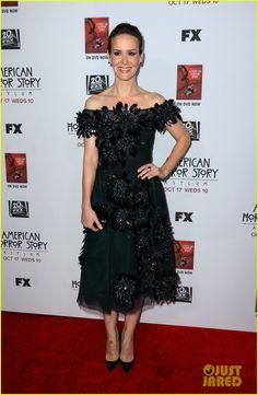 Lana banana 'American Horror Story' Premiere!