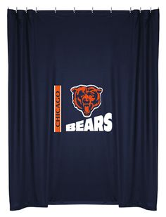 Chicago Bears Shower Curtain.
