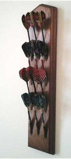 Mahogany Dart Holder