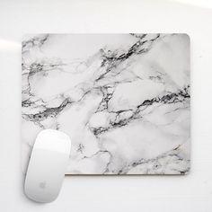 Marble Mouse Pad Mousepad Mouse Mat Mousemat Desk Accessory Designed Cool Marble…