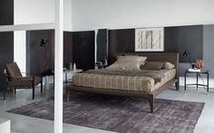 Alicudi bed / Rodolfo Dordoni / Flou