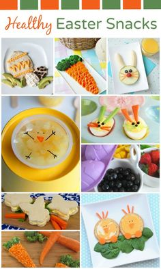 Sure Easter treats are part of the holiday fun, but you can also enjoy some Easter theme excitement with these healthy snacks for kids.