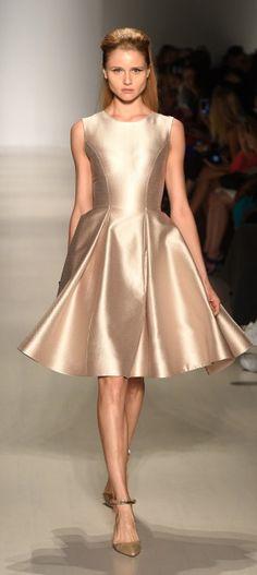Fashion Shenzen. SS15. Mercedes Benz Fashion Week. New York Fashion Week. @wardroberose #runway #metallic #a-line