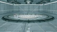 3D Design futuristisch interior