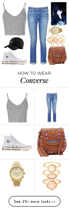 """""""I try to write back as fast as possible ~ BTA ~"""" by anxns-roleplay-dxrty on Polyvore featuring Glamorous, rag & bone, Converse, Isabella Fiore, NIKE, Michael Kors and Monsoon"""