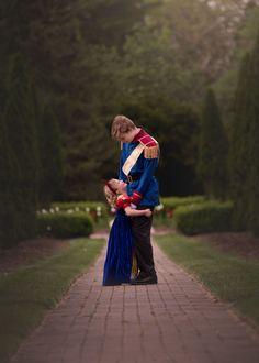 """Prince Charming"" Big Brother Surprises His Sister With a Princess Photo Shoot"