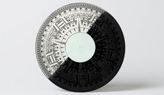 Laser engraved B side, from Norwegian design company Grand People