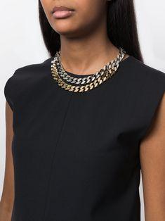 Jil Sander chain necklace