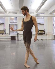 James Whiteside from ABT in a Keto Dancewear Unitard www.ketodancewear.com/mens