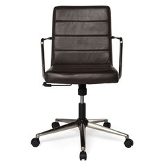 Nomad Desk Chair - Vintage dark brown - Mobler