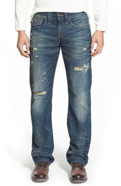 True Religion Brand Jeans 'Ricky' Relaxed Fit Jeans (Broken City) available at #Nordstrom