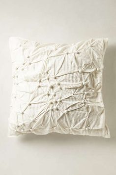 Anthropologie - Pearle Euro Sham #anthropologie #pin to win