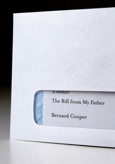 (A Gigantic) Bill From My Father