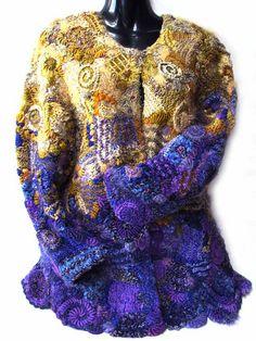 Prudence Mapstone purple-gold-jacket | Flickr - Photo Sharing!