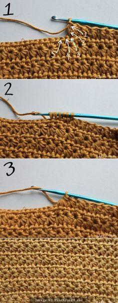 Crochet Star Stitch                                                       …