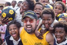 The Dunlop Hamba Giving Back campaign brought many smiles to Xhumabokwe Primary School