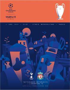 2019 UEFA Champions League Final programme - 2019 UEFA Champions League Final - Wikipedia Ucl Final, Fc Liverpool, Tottenham Hotspur Fc, Uefa Champions League, Finals, Madrid, Santa, Times, Illustration