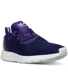 c94e9a194892c adidas Men's Originals ZX Flux Racer Knit Casual Sneakers from Finish Line  & Reviews - Finish Line Athletic Shoes - Men - Macy's