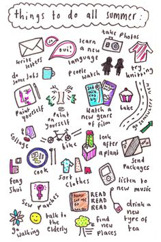 things to do in summer 2