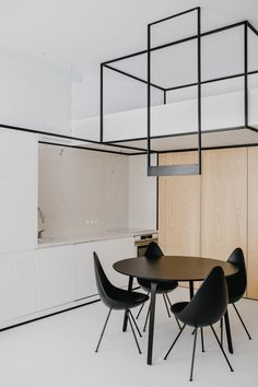 A Modern Apartment in Kraków Organized by Black Frames - Design Milk