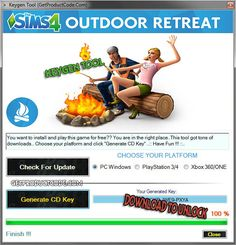 The Sims 4 Outdoor Retreat Free CD Key