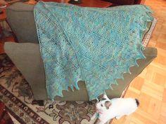 luv knit shawls :-D