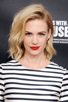 We rounded up the best blonde celebrities: January Jones.