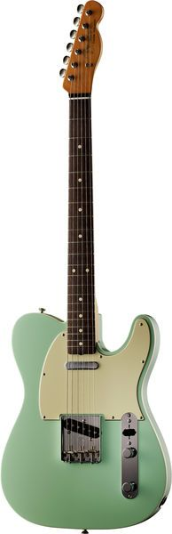 Fender 62 Vintage Custom Tele Surf Green... nice! A Beauty - Francis Rossi's iconic guitar - except he painted his with green furniture paint ha