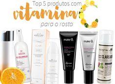 Produtos com vitamina C para o rosto: os 5 preferidos do momento! Eles revitalizam, iluminam, dão viço e beleza para a sua a pele!